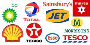 UK fuel company logos